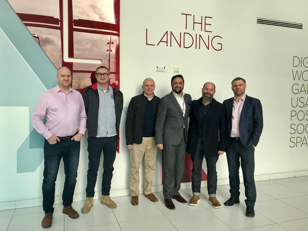 The In4.0 Landing Team
