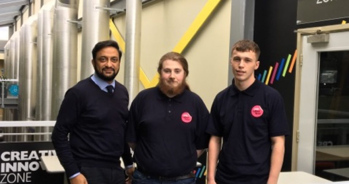 An initiative aimed at inspiring young people to pursue a career in technology has recruited five undergraduates from the University of Central Lancashire (UCLan).